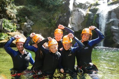 mini canyoning junior geres atividades