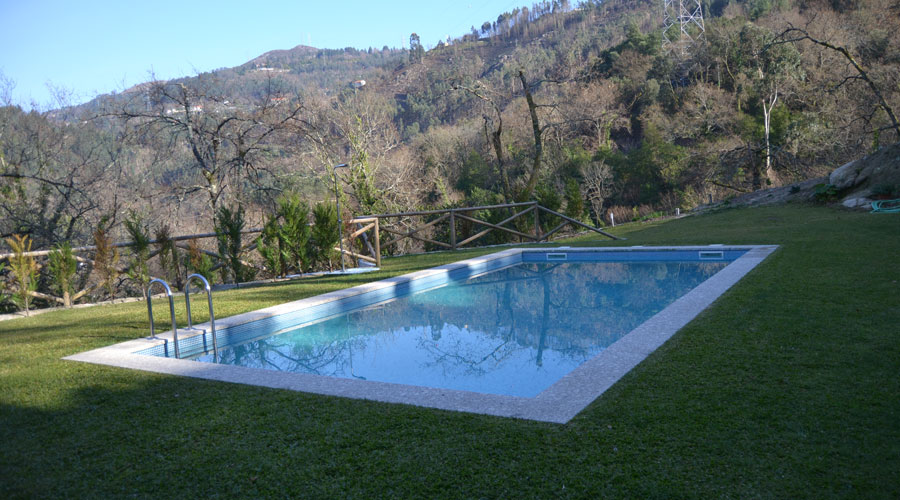 alugar casa geres barragem caniçada piscina