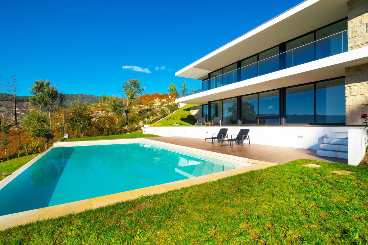 alugar casa luxo geres piscina
