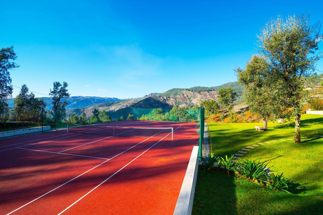 alugar casa luxo geres tenis