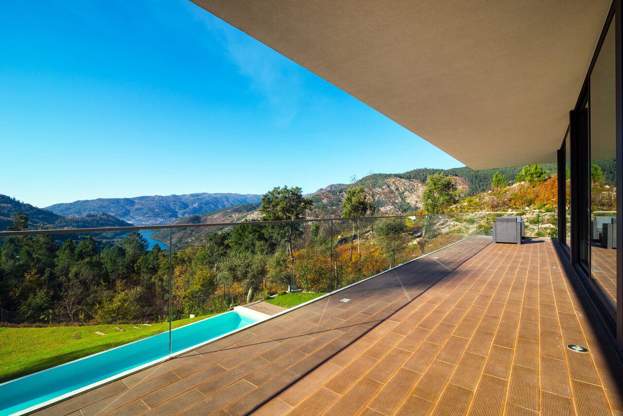 alugar casa luxo geres vista
