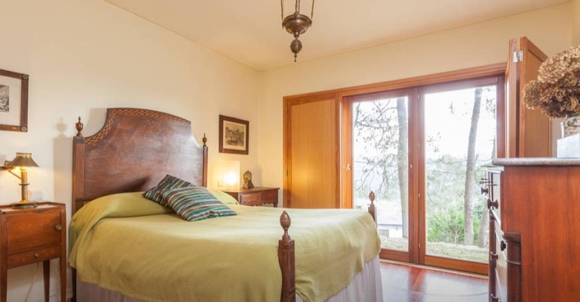 alugar casa vilar ferias geres quarto