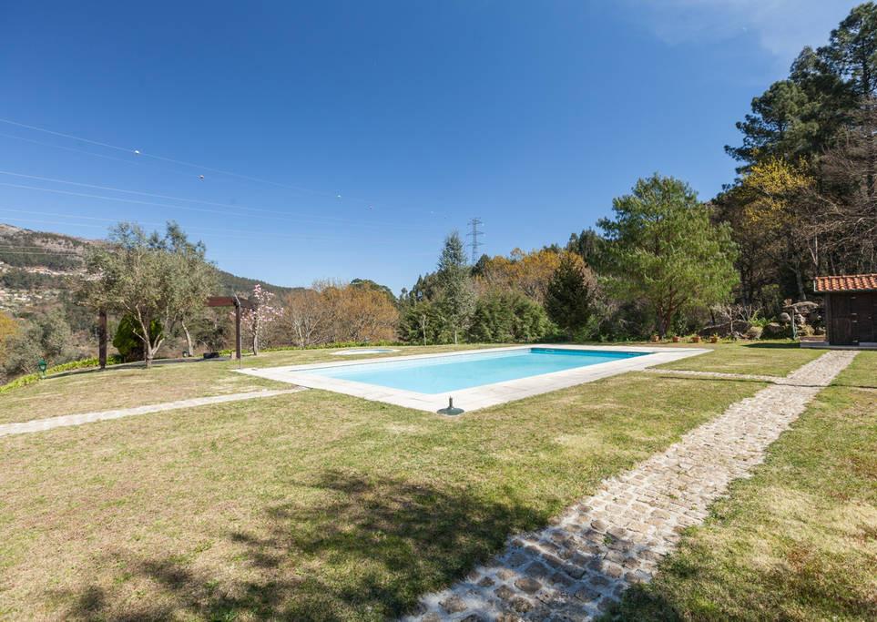 alugar quinta geres caniçada piscina