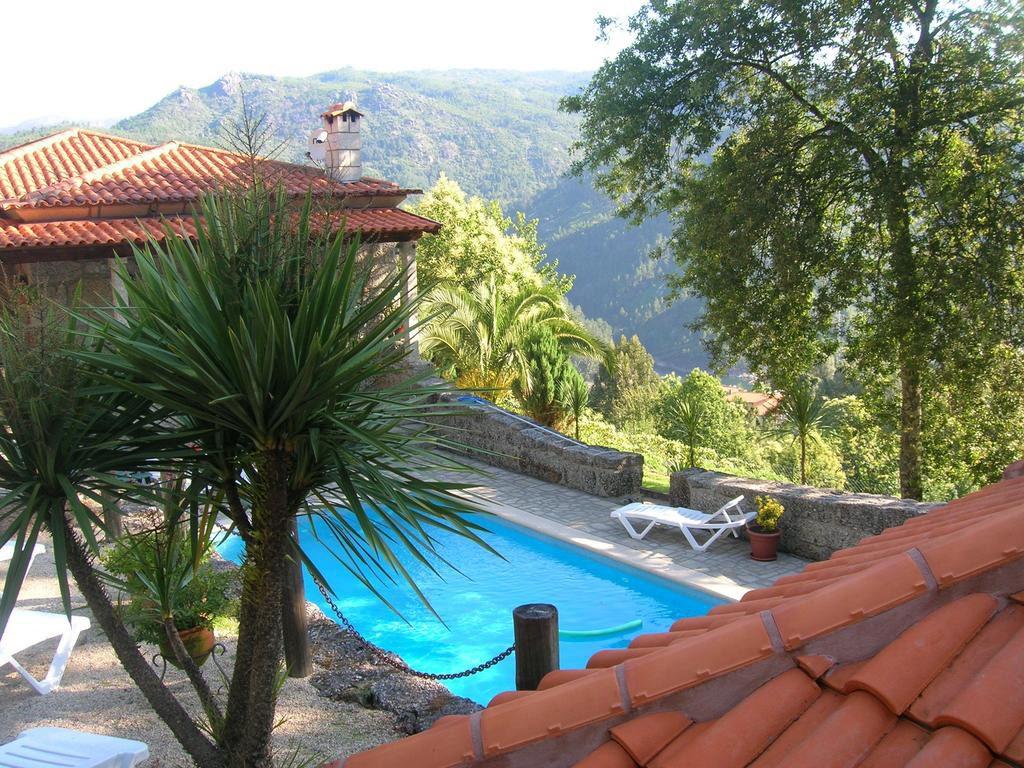casa das guimbras geres piscina