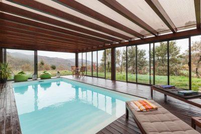 alugar casa geres piscina interior aquecida